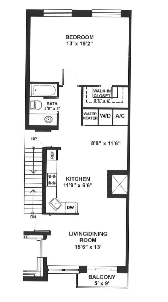 Unit 8A at 195 Spencer Street, Brooklyn, NY 11205
