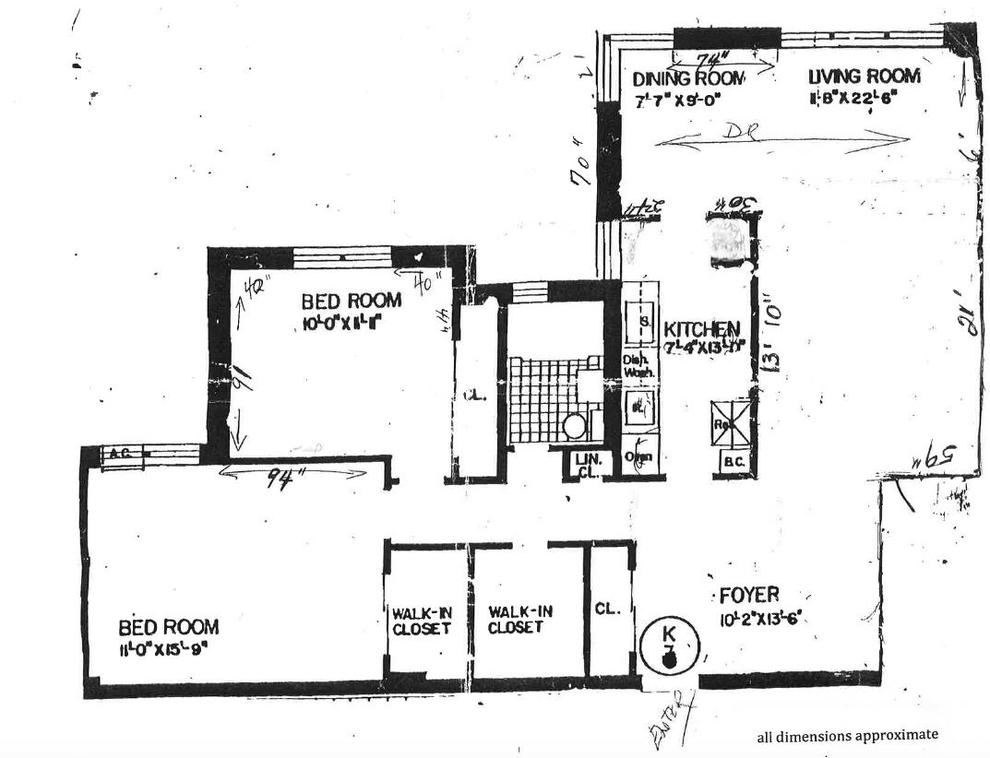 Unit 6K at 210-15 23rd Avenue, Bayside, NY 11360