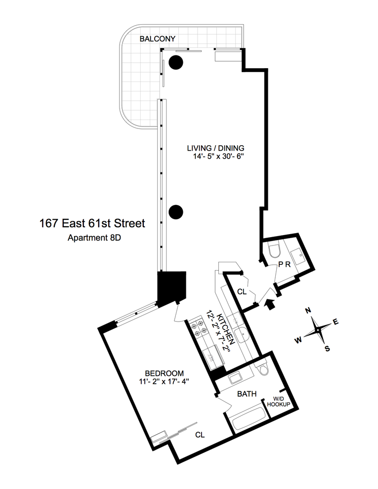 167 East 61st Street New York Ny 10065 Sales Floorplans