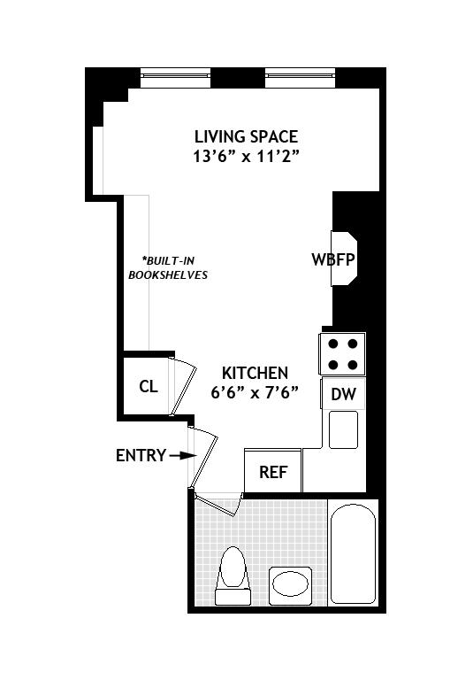 Unit 19 at 22 Cornelia Street, New York, NY 10014