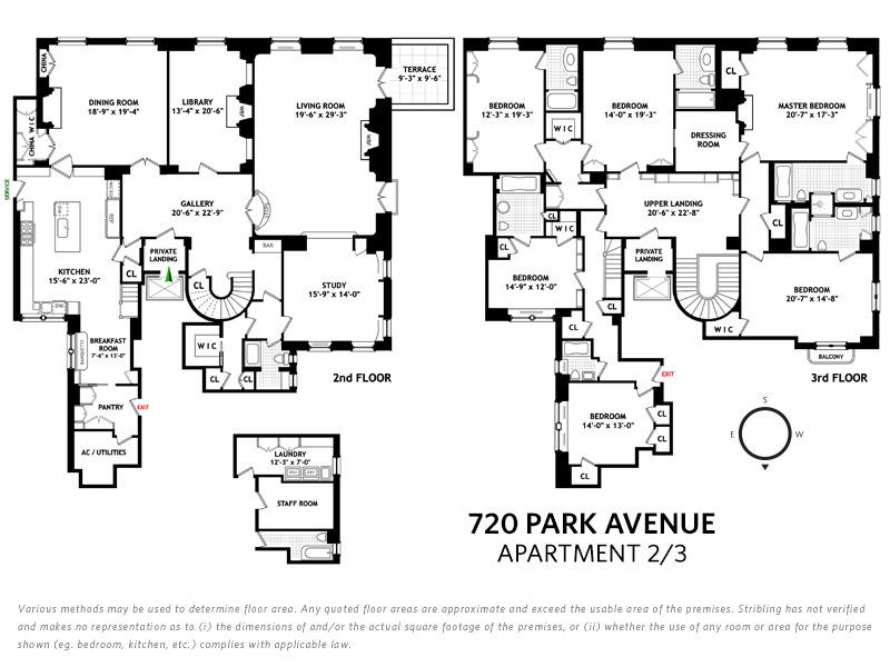 Unit 23C at 720 Park Avenue, New York, NY 10021