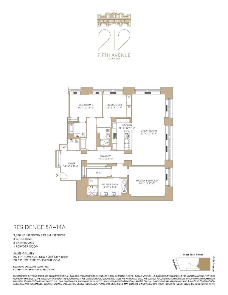 Unit 10A at 212 5th Avenue, New York, NY 10010