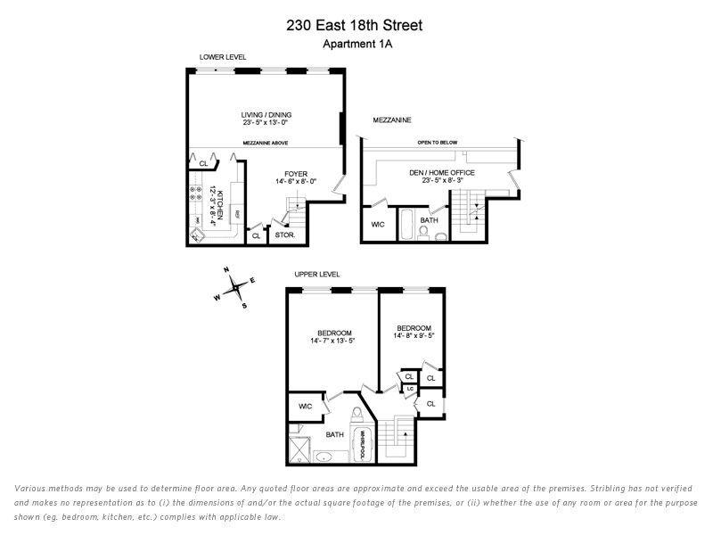 Unit 1A at 230 East 18th Street, New York, NY 10003