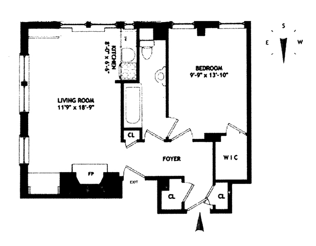 Unit 7H at 10 Mitchell Place, New York, NY 10017