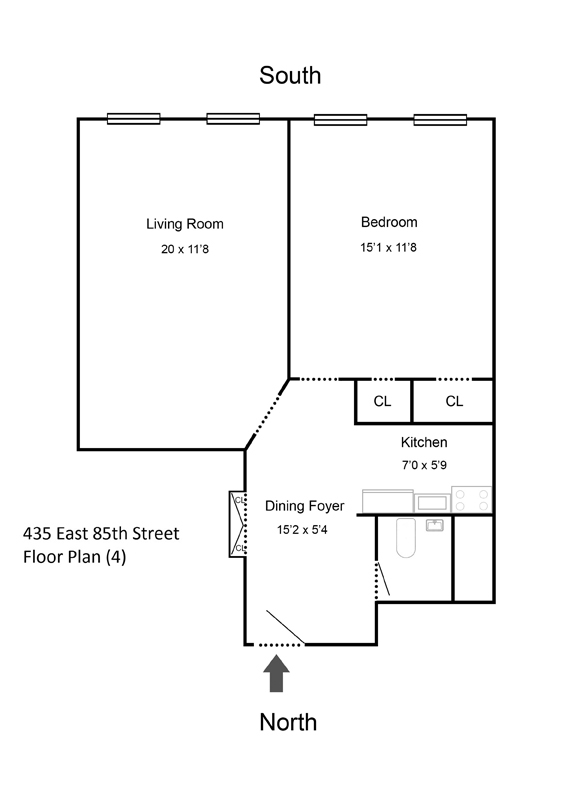 Unit 3A at 435 East 85th Street, New York, NY 10028