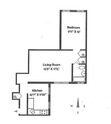 Unit 4B at 325 East 80th Street, New York, NY 10075