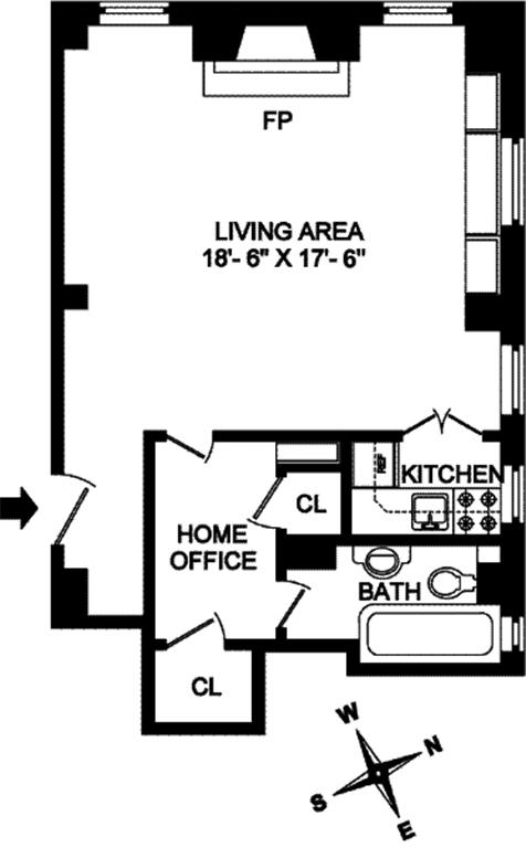 Unit 5F at 10 Mitchell Place, New York, NY 10022