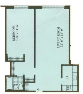Unit 824 at 125-10 Queens Boulevard, Kew Gardens, NY 11415