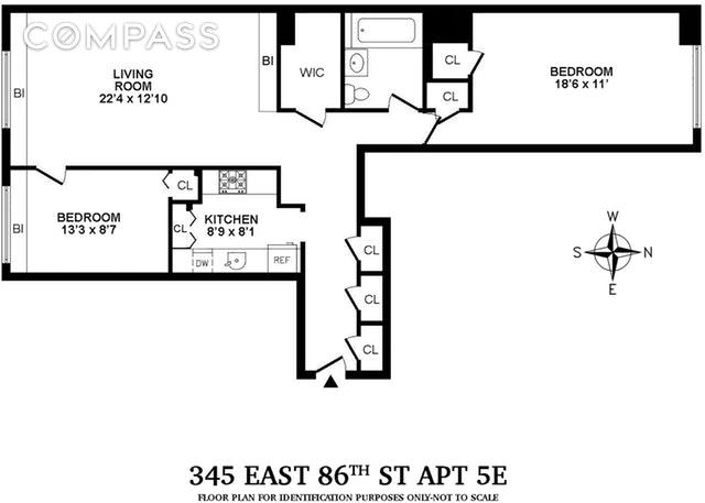 Unit 5E at 345 East 86th Street, New York, NY 10028