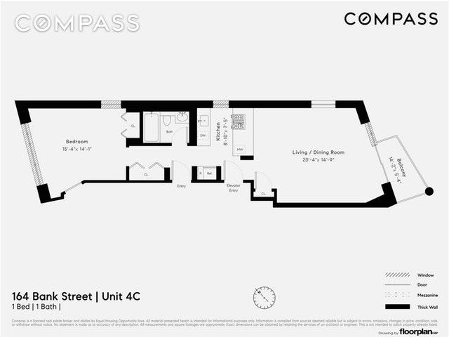 164 Bank Street New York Ny 10014 Sales Floorplans Property