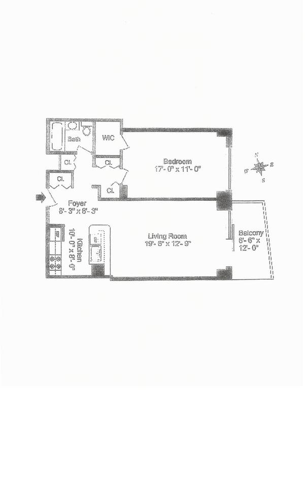 Unit 8F at 132 East 35th Street, New York, NY 10016