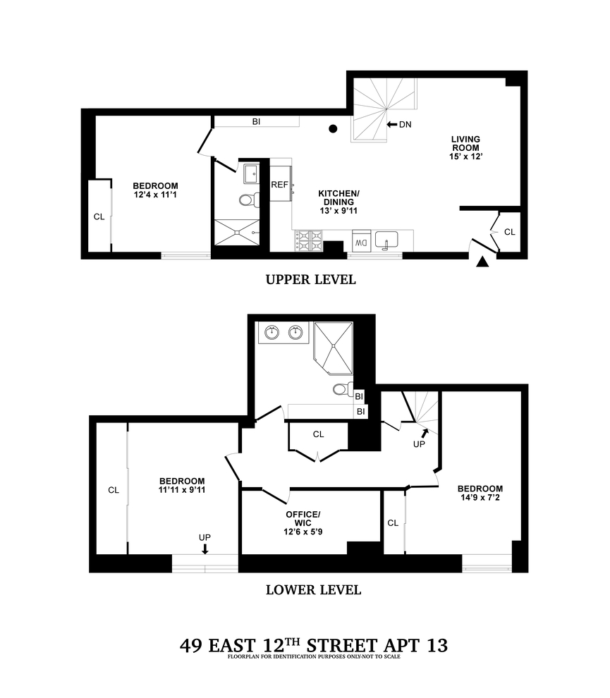 49 East 12th Street #1D, New York, NY 10003: Sales ... Rachel S Keep Townhomes Floor Plans on