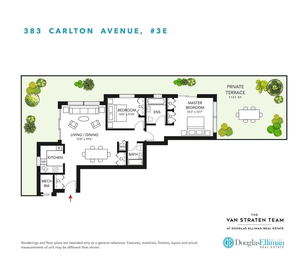 Unit 3E at 383 Carlton Avenue, Brooklyn, NY 11238