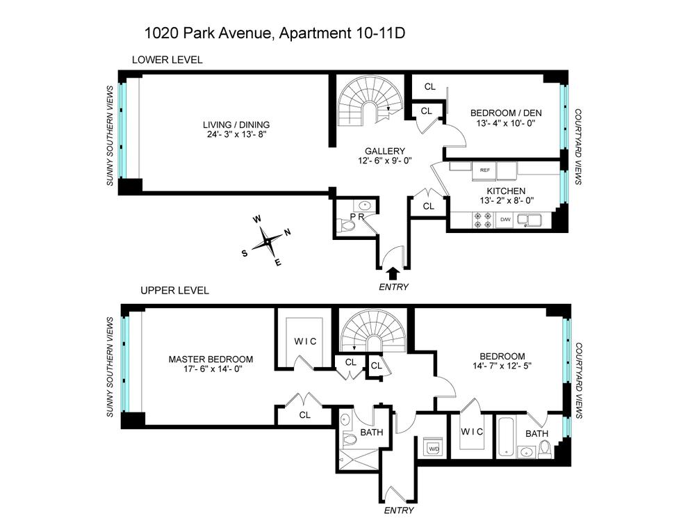 Unit 1011D at 1020 Park Avenue, New York, NY 10028