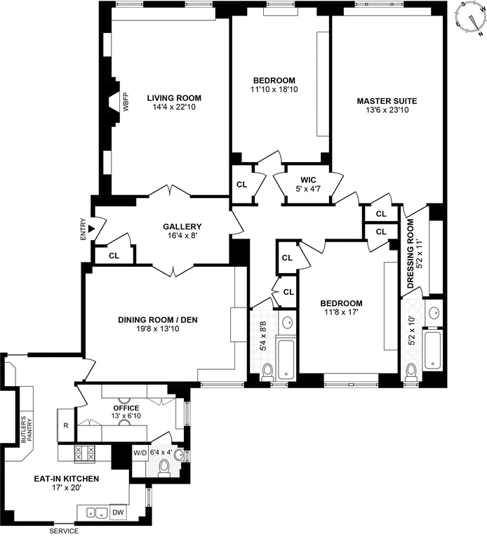 Unit 5A at 30 Sutton Place, New York, NY 10022