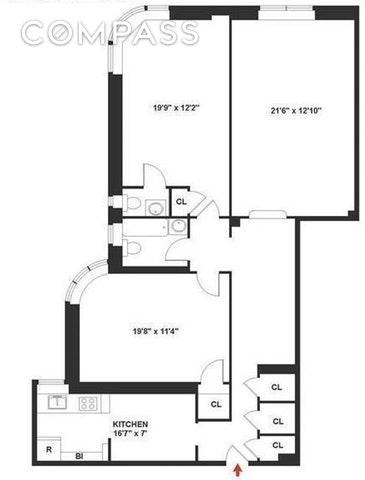 Unit 6F at 736 West 186th Street, New York, NY 10033