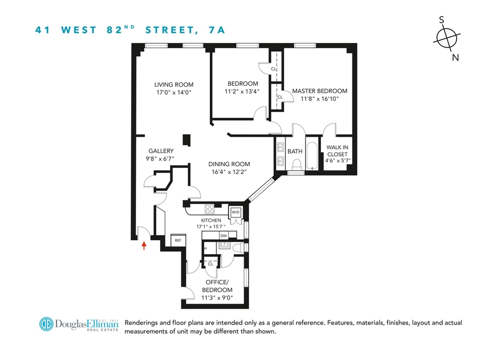 Unit 7A at 41 West 82nd Street, New York, NY 10024
