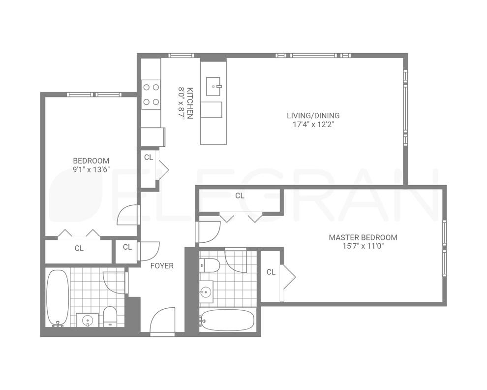 53 Boerum Place #2F, Brooklyn, NY 11201: Sales, Floorplans