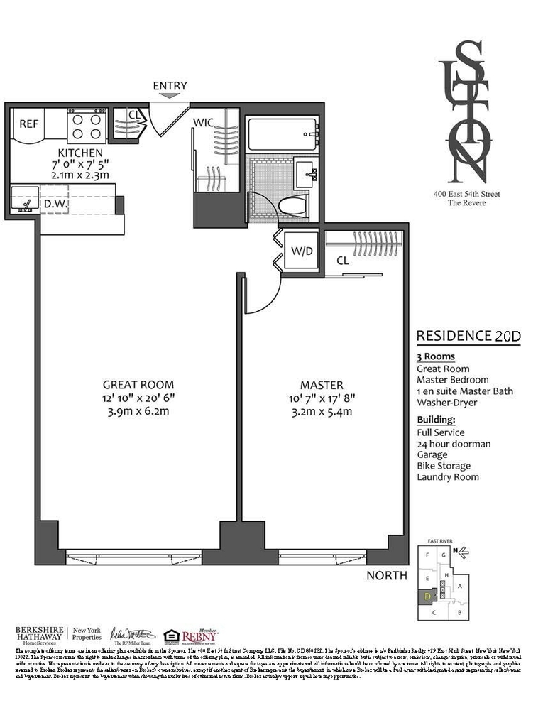 400 East 54th Street, New York, NY 10022: Sales, Floorplans