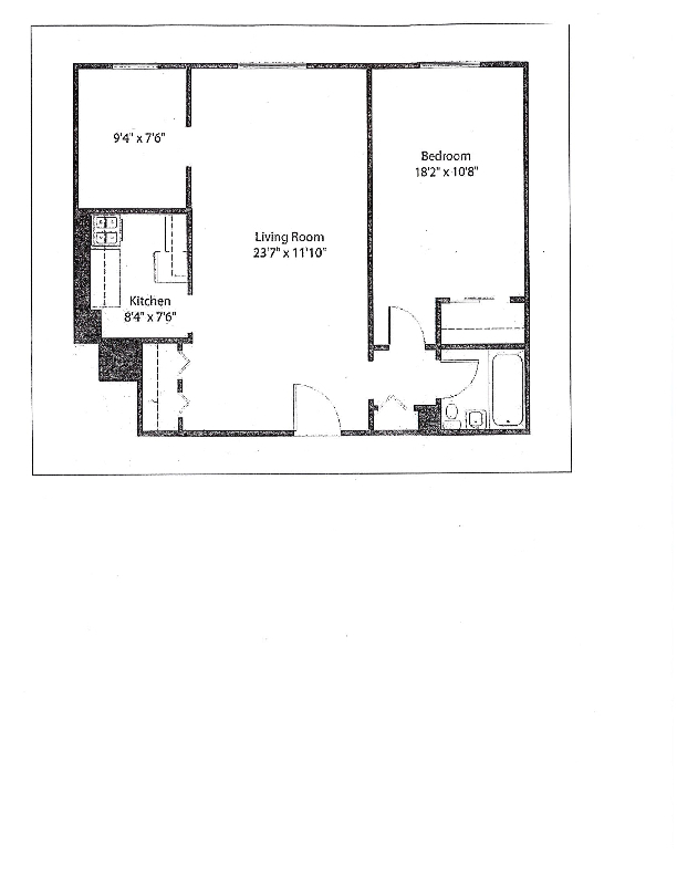 Unit 4H at 45 Overlook Terrace, New York, NY 10033