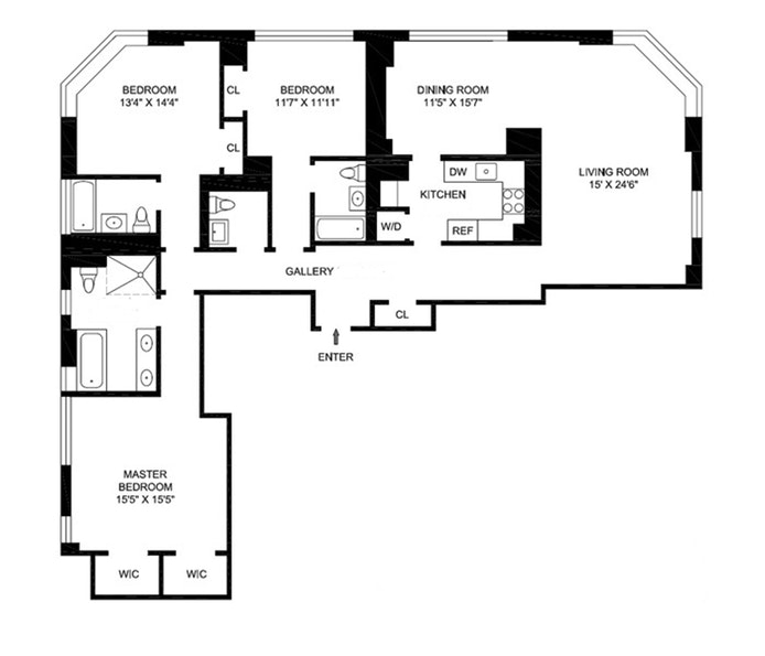 Unit 18A at 455 Central Park West, New York, NY 10025