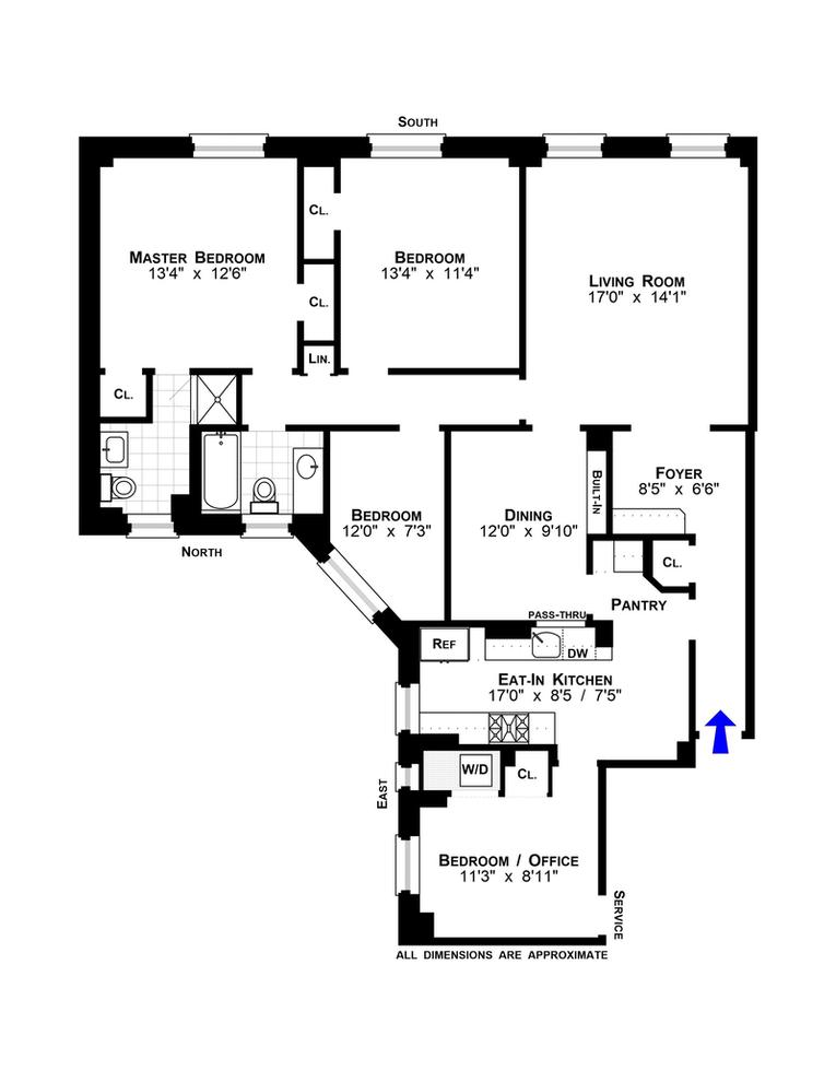 Unit 2B at 41 West 82nd Street, New York, NY 10024