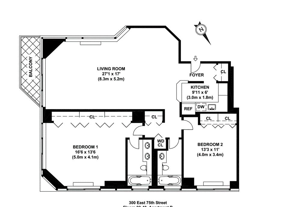 330 East 75th Street, New York, NY 10021: Sales, Floorplans
