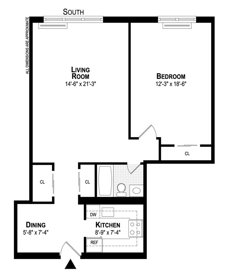 Unit 6E at 402 East 90th Street, New York, NY 10128
