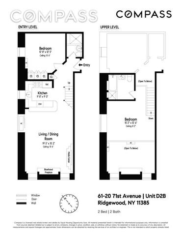 Unit D2B at 61-20 71st Avenue, Ridgewood, NY 11385