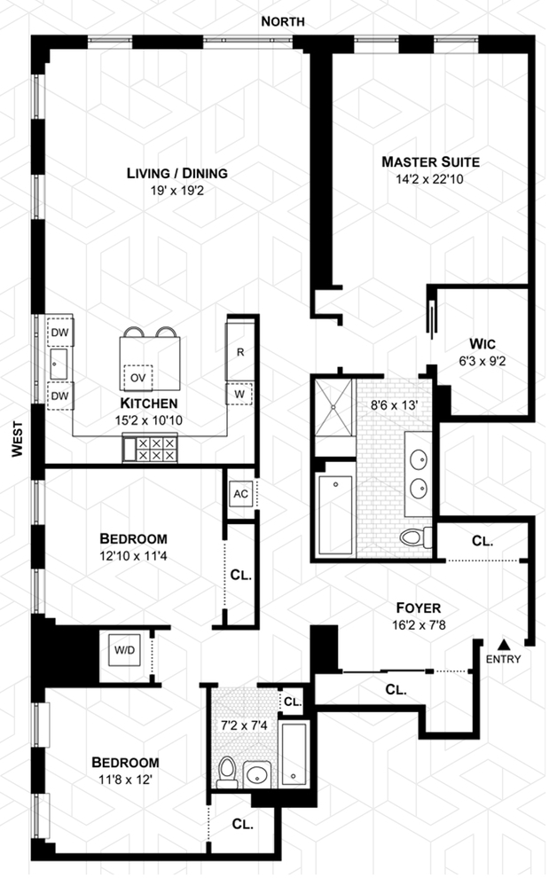 Unit 8A at 498 West End Avenue, New York, NY 10024