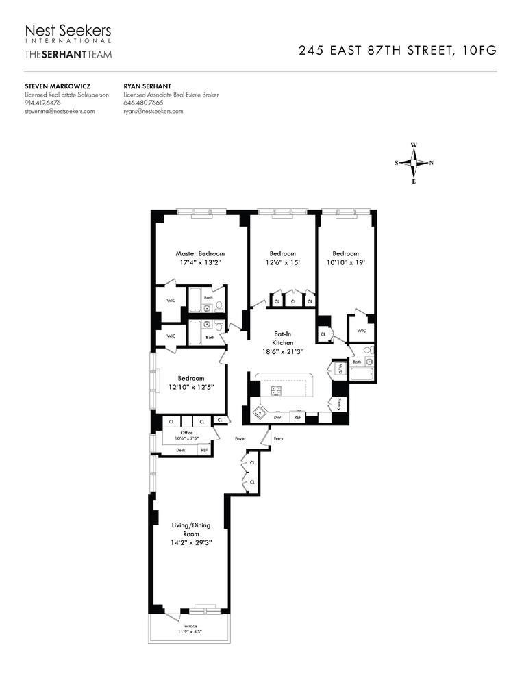 245 East 87th Street, New York, NY 10128: Sales, Floorplans