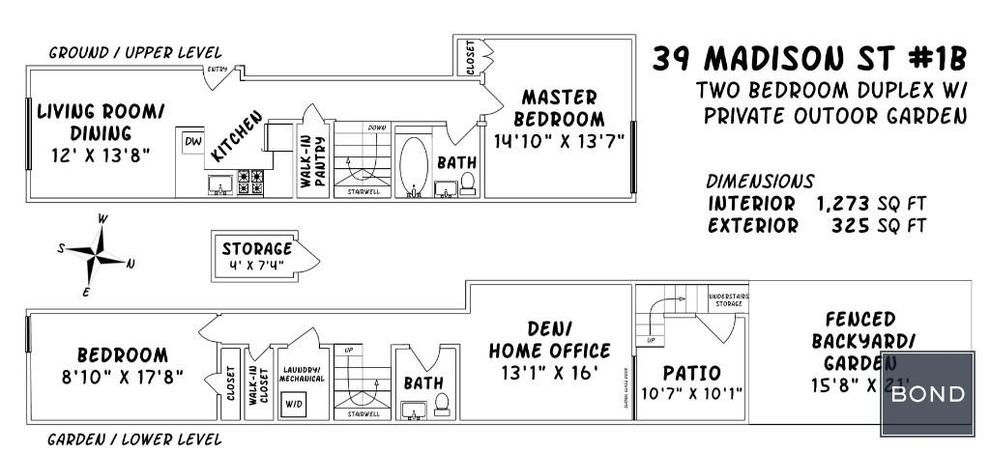 Unit 1R at 39 Madison Street, Brooklyn, NY 11238