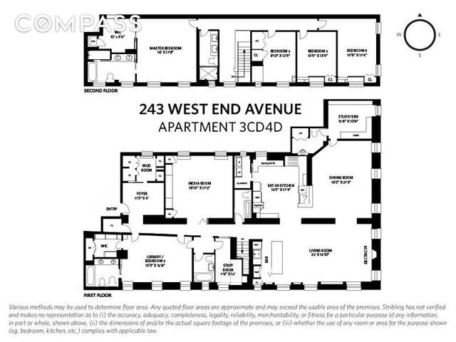Unit 3CD4D at 243 West 98th Street, New York, NY 10025