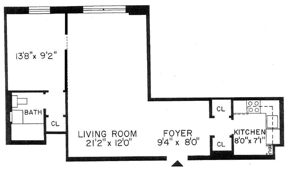 Unit 4N at 310 Lenox Road, Brooklyn, NY 11226
