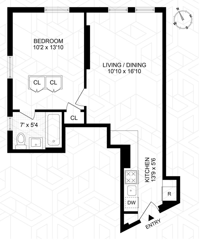 Unit 1I at 400 Lincoln Place, Brooklyn, NY 11238