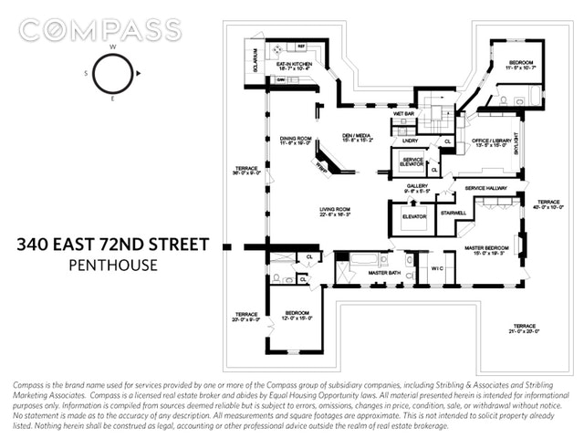 Unit PH at 340 East 72nd Street, New York, NY 10021