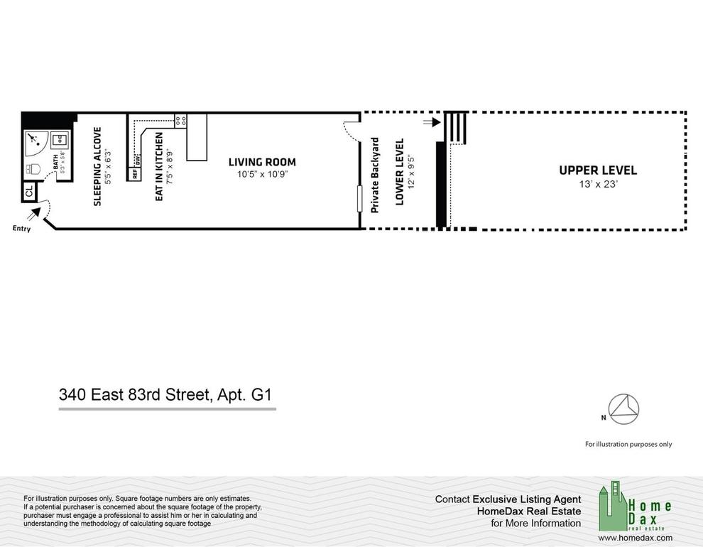 Unit G1 at 340 East 83rd Street, New York, NY 10028