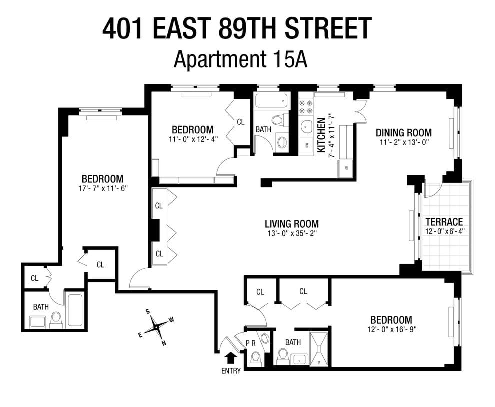 Unit 15A at 401 East 89th Street, New York, NY 10128