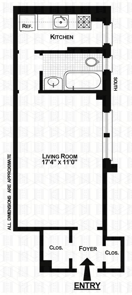Unit 6E at 321 East 54th Street, New York, NY 10022