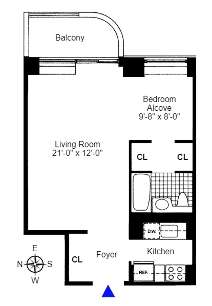 Unit 4E at 311 East 38th Street, New York, NY 10016