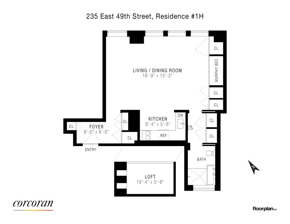 Unit H1 at 235 East 49th Street, New York, NY 10022