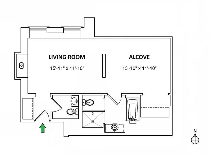 Unit 1326 at 768 5th Avenue, New York, NY 10019