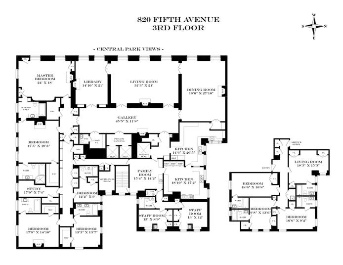 Unit 3FL at 820 5th Avenue, New York, NY 10065