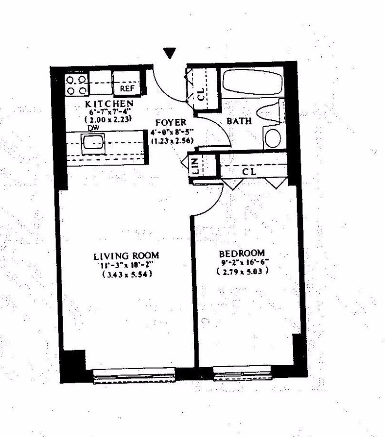Unit 8A at 300 Albany Street, New York, NY 10280