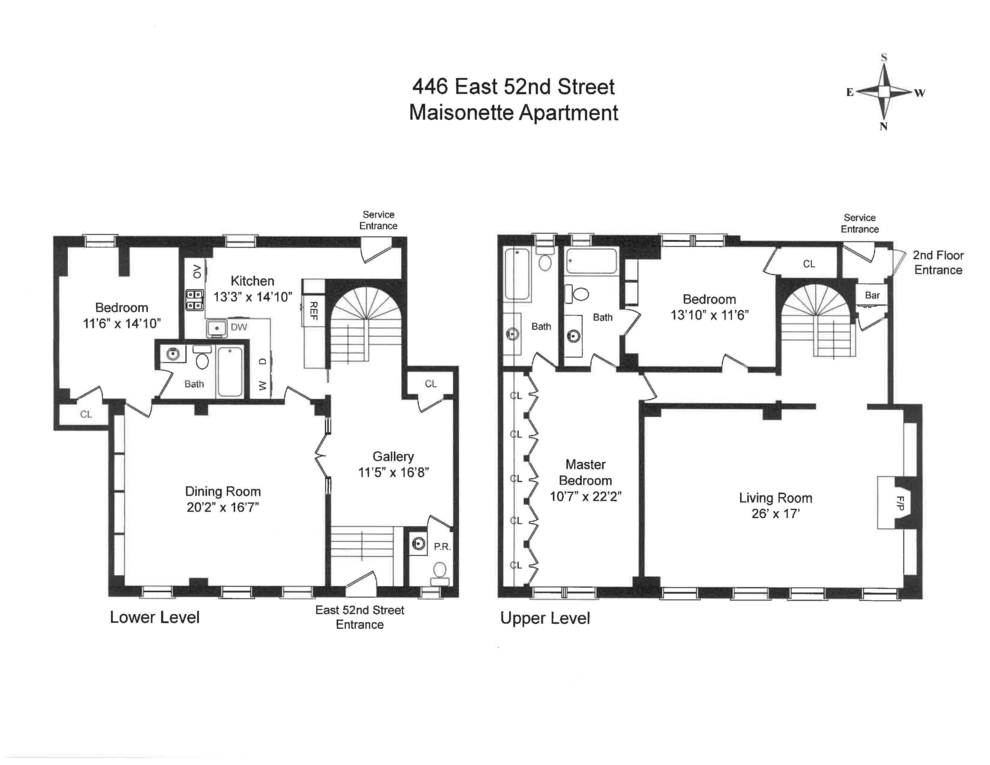 Unit 1A at 444 East 52nd Street, New York, NY 10022