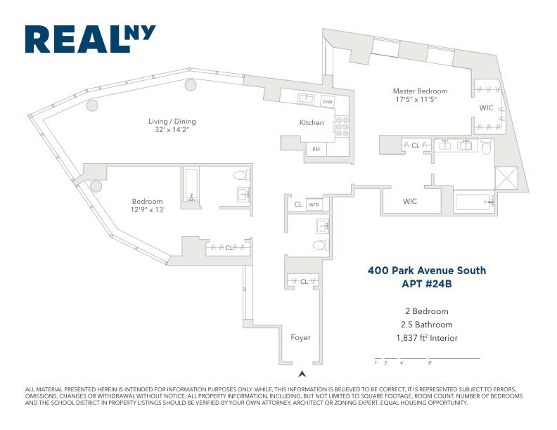 Unit 24B at 400 Park Avenue South, New York, NY 10016