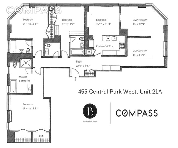 Unit 21A at 455 Central Park West, New York, NY 10025
