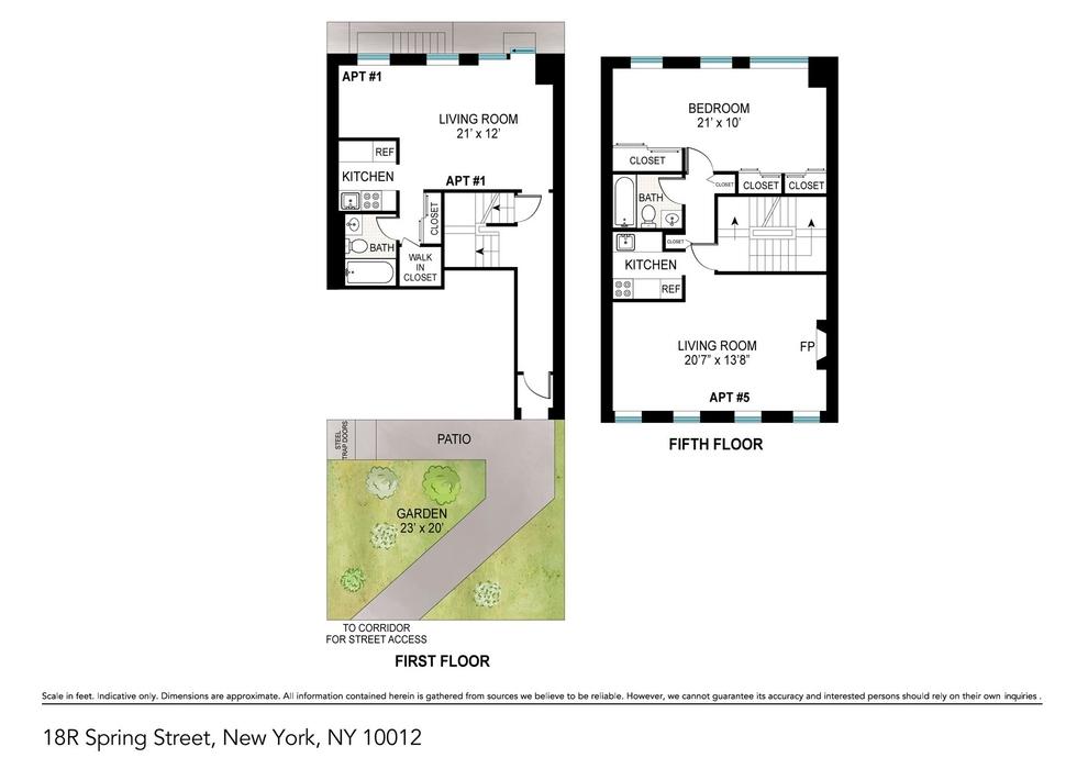 Building at 18 Spring Street, New York, NY 10012