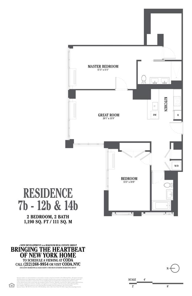 Unit 11B at 385 1st Avenue, New York, NY 10010