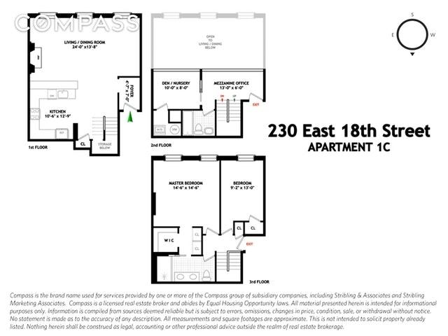 Unit 1C at 230 East 18th Street, New York, NY 10003